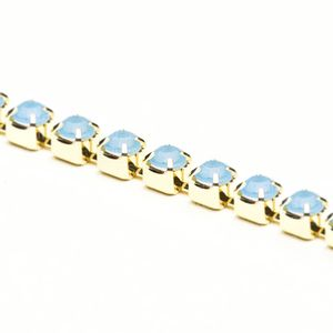 corrente-strass-pp14-pacific-blue-opal-ouro