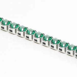 corrente-zirconia-2mm-emerald-niquel
