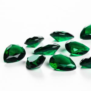 zirconia-gota-10x14mm-emerald